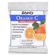 Zand HerbaLozenge Orange C Natural Orange - 15 Lozenges - Case of 12