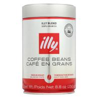 Illy Caffe Coffee Coffee - Whole Bean - Medium Roast - 8.8 oz - case of 6