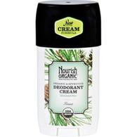 Nourish Organic Deodorant - Cream - Organic - Forest - 2 oz