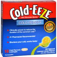 Cold-EEZE Cold Remedy Lozenges Lemon Lime - 18 Lozenges