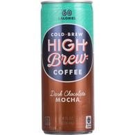 High Brew Coffee Coffee - Ready to Drink - Dark Chocolate Mocha - 8 oz - case of 12