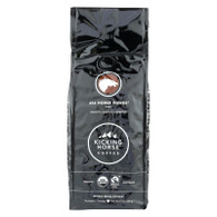 Kicking Horse Coffee - Organic - Whole Bean - 454 Horse Power - Dark Roast - 10 oz - case of 6