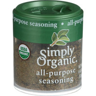 Simply Organic All Purpose Seasoning - Organic - .42 oz - Case of 6