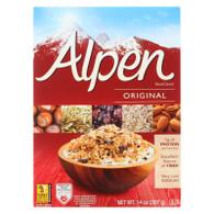 Alpen Original Muesli Cereal - Case of 1 - 14 oz.