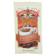 Land O Lakes Cocoa Classic Mix - French Vanilla and Chocolate - 1.25 oz - Case of 12
