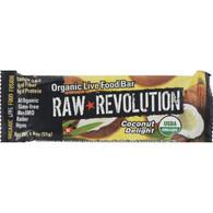 Raw Revolution Bar - Organic Coconut Delight - Case of 12 - 1.8 oz