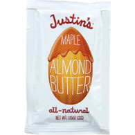 Justins Nut Butter Almond Butter - Maple - Squeeze Pack - 1.15 oz - case of 60