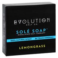 Evolution Salt Bath Soap - Sole - Lemongrass - 4.5 oz