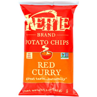 Kettle Brand Potato Chips - Red Curry - 5 oz - case of 15