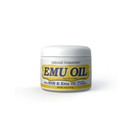 Natural Treasures Emu Oil Topical Cream - 4 oz