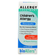 Bio-Allers Children's Allergy Treatment - 1 fl oz