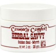 Country Comfort Herbal Savvy Golden Seal-Myrrh - 1 oz