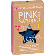 Lunastar Pinki Naturali Nail Polish - Salem (Metallic Blue) - .25 fl oz