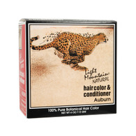 Light Mountain Natural Hair Color and Conditioner Auburn - 4 fl oz