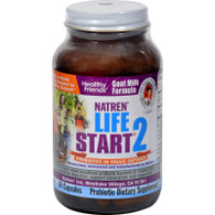 Natren Life Start 2 Probiotics for Adults - 60 Vegetarian Capsules