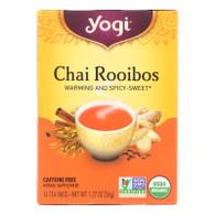 Yogi Tea Chai Rooibos - Caffeine Free - 16 Tea Bags