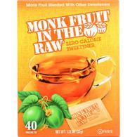Monk Fruit In The Raw Monk Fruit In The Raw - 40 packets - case of 8