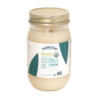 Harvest Bay Organic Coconut Oil - Extra Virgin Refined - Case of 6 - 14 Fl oz.