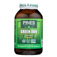 Pines International Green Duo - Organic - Capsules - 260 Veg Capsules