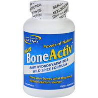 North American Herb and Spice BoneActiv - Raw - 120 Capsules