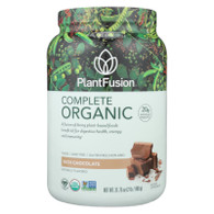 PlantFusion Plant Protein - Organic - Chocolate - 2 lb