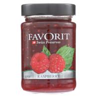 Favorit Preserves - Swiss - Raspberry - 12.3 oz - case of 6