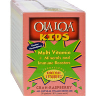 Ola Loa Kids Multi-Vitamin Drink Cran-Raspberry - 30 Packets