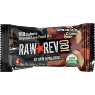 Raw Revolution Bar - Organic Chocolate and Cashew - Case of 20 - .8 oz