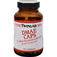 Twinlab DMAE Caps - 100 mg - 100 Capsules