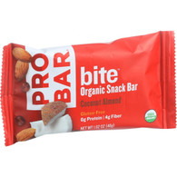 Probar Bite Organic Snack Bar - Coconut Almond - 1.62 oz Bars - Case of 12
