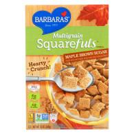 Barbara's Bakery Multigrain Squarefuls - Maple Brown Sugar - Case of 12 - 12 oz.