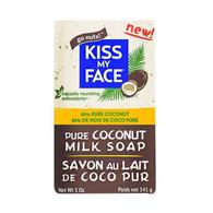 Kiss My Face Bar Soap - Coconut Milk - 5 oz