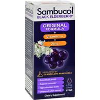 Sambucol Black Elderberry Immune Formula Liquid - 4 fl oz
