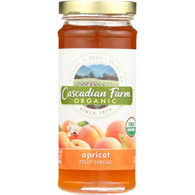 Cascadian Farm Fruit Spread - Organic - Apricot - 10 oz - case of 6