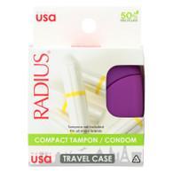 Radius Compact Tampon Case - 1 Case - Case of 6