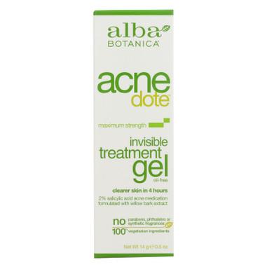 Alba Botanica Natural Acnedote Invisible Treatment Gel - 0.5 oz