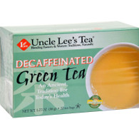 Uncle Lee's Tea Decaffeinated Green Tea - 20 Tea Bags