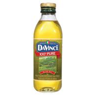 DaVinci 100 Percent Pure Olive Oil - Case of 12 - 17 FL oz.