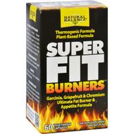 Natural Balance Super Fit Burners - 60 Vegetarian Capsules