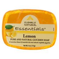 Clearly Natural Glycerine Bar Soap Lemon - 4 oz