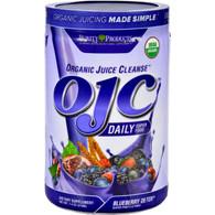 OJC-Purity Products Organic Juice Cleanse - Certified Organic - Advanced Daily Fiber Formula - Blueberry Detox - 7.4 oz