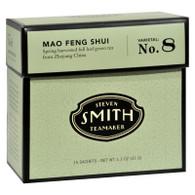 Smith Teamaker Green Tea - Mao Feng Shui - Case of 6 - 15 Bags