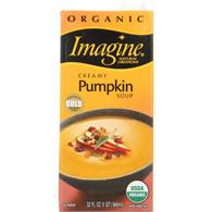 Imagine Foods Soup - Organic - Creamy Pumpkin - 32 oz - case of 12