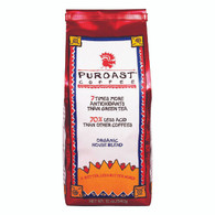 Puroast Low Acid Ground Coffee - House Blend - Case of 6 - 12 oz.