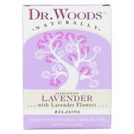 Dr. Woods Castile Bar Soap Lavender - 5.25 oz