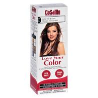 Love Your Color Hair Color - CoSaMo - Non Permanent - Lt Ash Brown - 1 ct