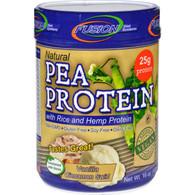 Fusion Diet Systems Pea Protein - Natural - Vanilla Cinnamon Swirl - 16 oz