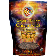 Earth Circle Organics Cacao Nibs - Organic - Balinese Raw - 8 oz
