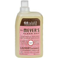 Mrs. Meyer's 68 Load 4x Laundry Detergent - Rosemary - 34 fl oz - Case of 6