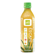 Alo Original Escape Aloe Vera Juice Drink - Pineapple and Guava - Case of 12 - 16.9 fl oz.